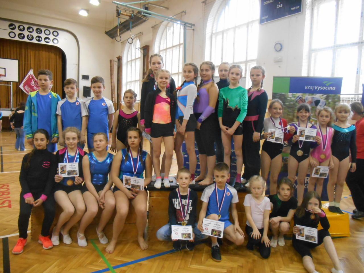 Přebory ve sportovní gymnastice a šplhu