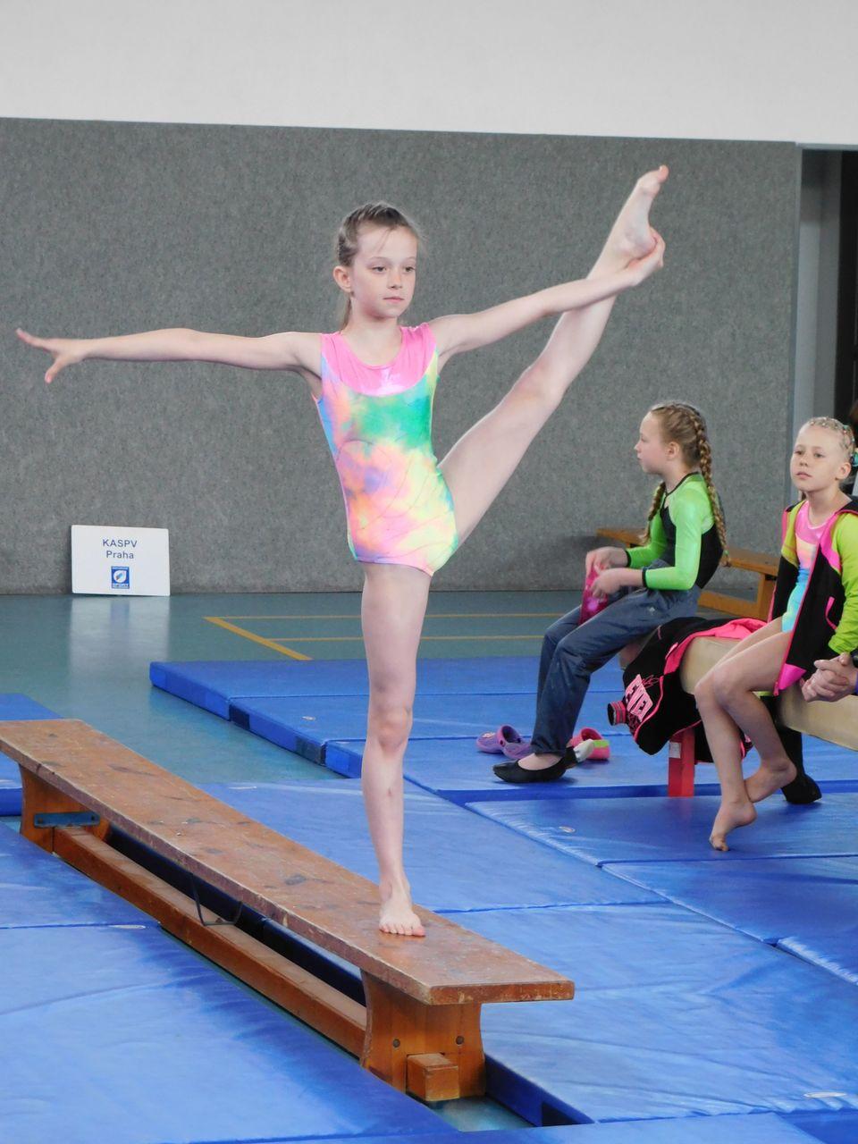 Republikové finále ve sportovní gymnastice
