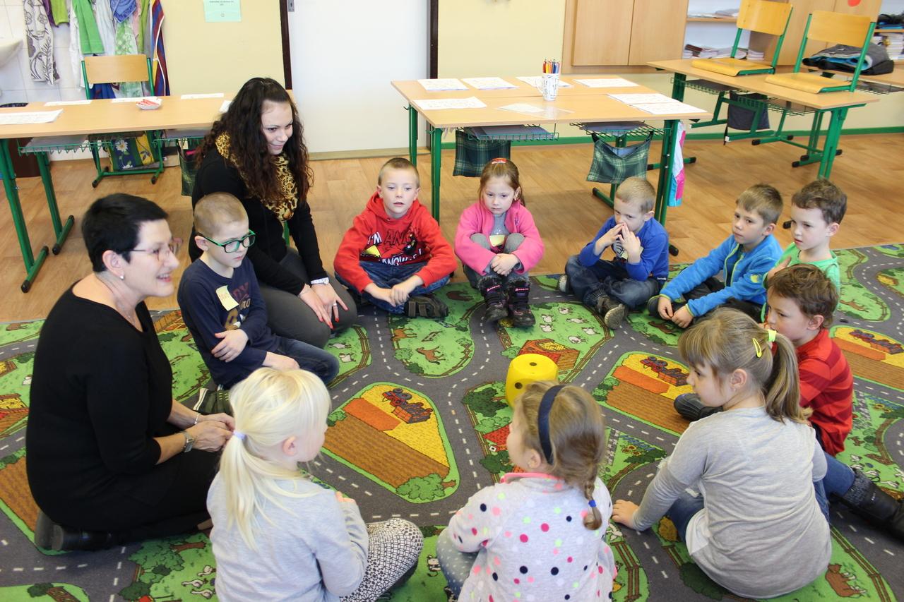 Předškoláci na Dni otevřených dveří