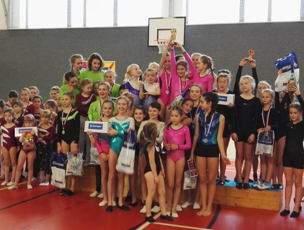 Dačický trojboj v gymnastice a šplhu