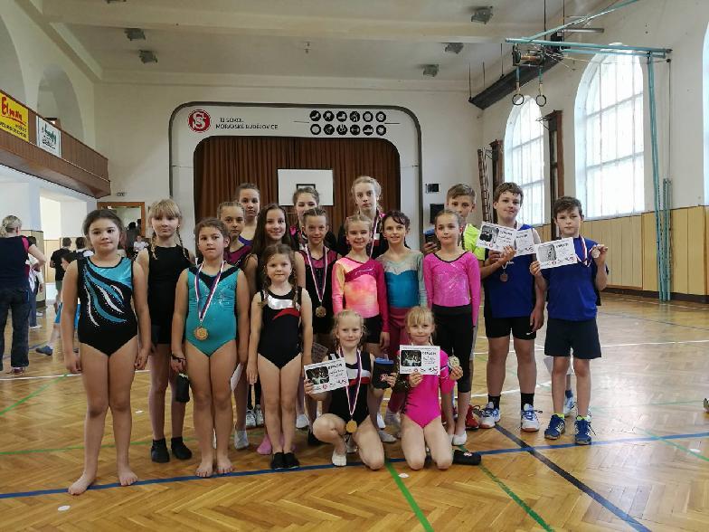 Přebor župy ve sportovní gymnastice